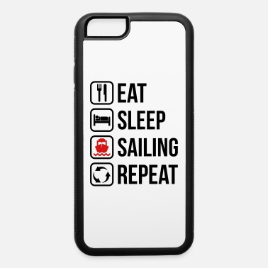 Heaven Eat Sleep Sailing Repeat - iPhone 6/6s Rubber Case