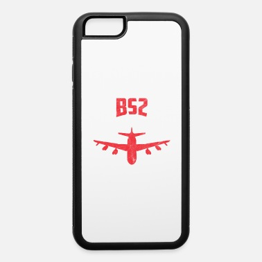 Radioactive B52 B-52 Stratofortress Strategic Bomber USA Gift - iPhone 6/6s Rubber Case