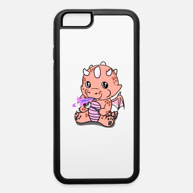 Dragon Boat Cute Dragon Fantasy Marschmellos Kids - iPhone 6/6s Rubber Case