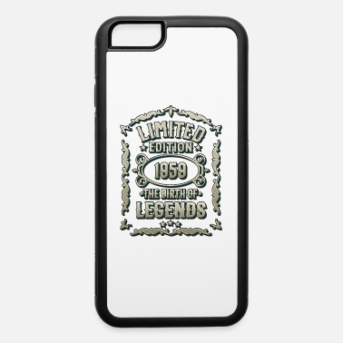 60 Years Born 1959 - Gift T-Shirt for Birthday - iPhone 6/6s Rubber Case