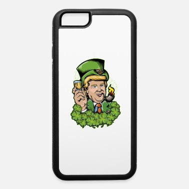 Saint Make St Patricks Day Great Again Lucky Shamrock - iPhone 6/6s Rubber Case
