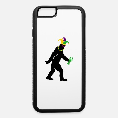 Mask Mardi Gras Big Foot Carnival For Men Women Costume - iPhone 6/6s Rubber Case