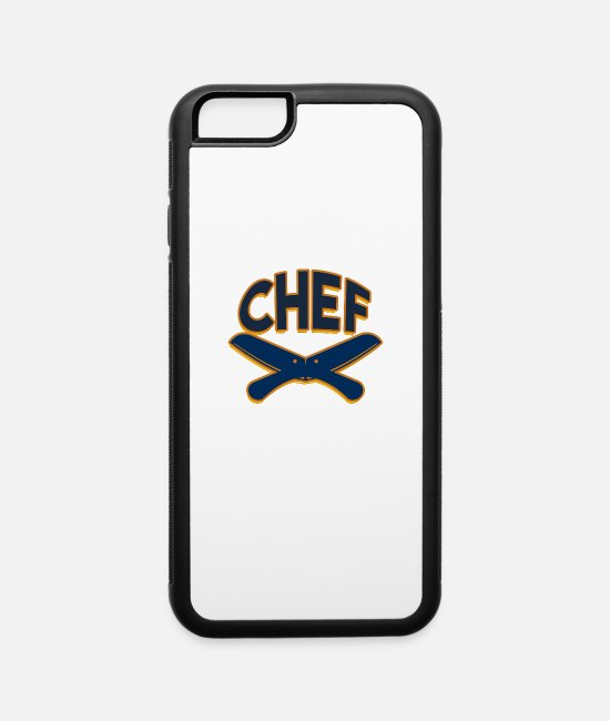 Occupation iPhone Cases - Chef - iPhone 6 Case white/black