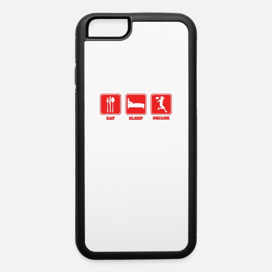 Squash iPhone Cases - Squash - iPhone 6 Case white/black