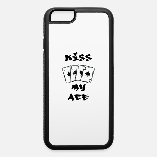 Poker iPhone Cases - Poker - iPhone 6 Case white/black