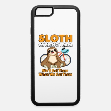Cycling Funny Sloth Cycling Team - iPhone 6 Case
