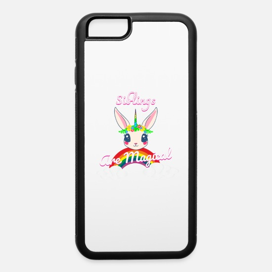 Funny iPhone Cases - Siblings are magical - iPhone 6 Case white/black