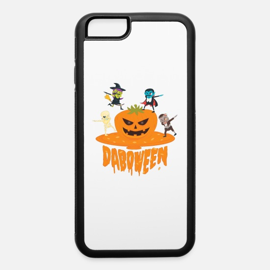Trick Or Treat iPhone Cases - Daboween Collection - iPhone 6 Case white/black