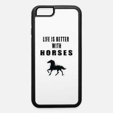 Cowboy Adorable Life Horse Lover Quotes - iPhone 6 Case