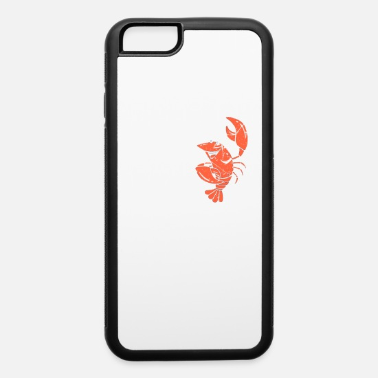 Crawfish iPhone Cases - That Fish Cray |Funny|Craw Fish|Sea Food|Foodie| - iPhone 6 Case white/black