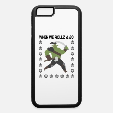 D20 Funny RPG D20 Shirt Barbarian Roll Game Retro T - iPhone 6 Case