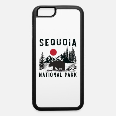 Grizzly Vintage Sequoia National Park California Bear - iPhone 6 Case