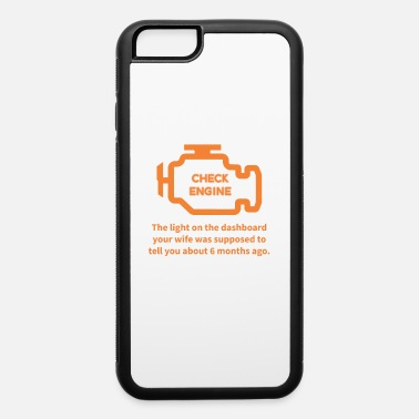 Mechanical Engineering Repair Shop Car Check Engine Light Auto Mechanic - iPhone 6 Case