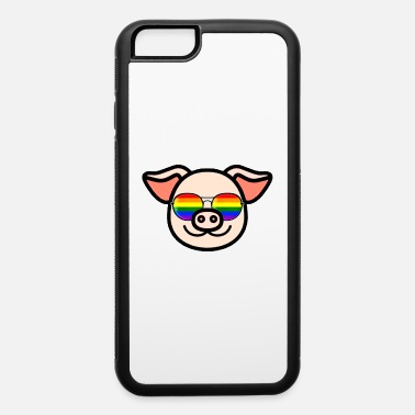 Csd Pride LGBT Pig Rainbow Sunglasses - iPhone 6 Case