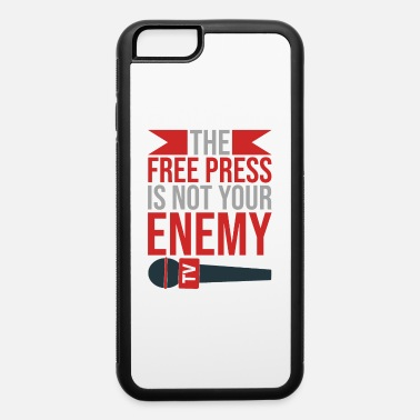 Newspapers Free Press Support Journalism Quote Gift - iPhone 6 Case