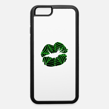 Mummie Spider Web Lips Halloween Costume - iPhone 6 Case