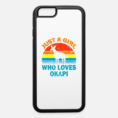 Activist Just A Girl Who Loves Okapi - iPhone 6 Case
