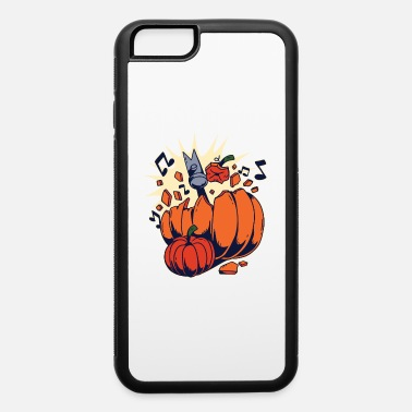 Funny Halloween Halloween Pumpkins Funny Smashed By a Hammer - iPhone 6 Case