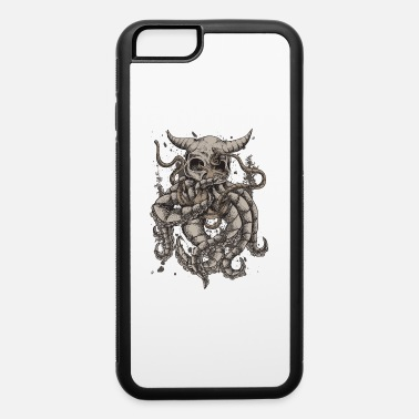 For Octopus Lovers Dead Octopus Skull and anchor Kraken Tentacle Gift - iPhone 6 Case