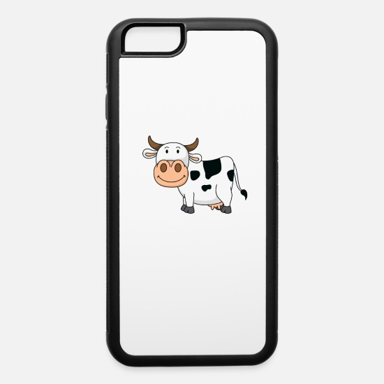 Chicken iPhone Cases - Support your Local Farmers - iPhone 6 Case white/black