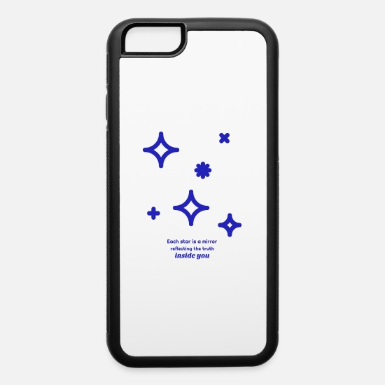 Love iPhone Cases - Each Star Is A Mirror - iPhone 6 Case white/black
