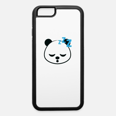 Pumpkin Spice Lovers Funny Coffee Lover Gift Coffee Gift Lazy Panda - iPhone 6 Case