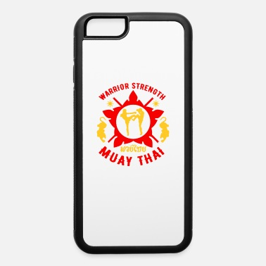 Fitness Tigar Muay Thai MMA Retro Warrior MMA Training - iPhone 6 Case