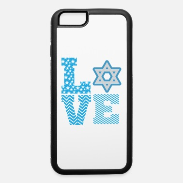 David Hanukkah Love the Star of David - iPhone 6 Case