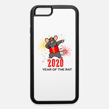 Dab 2020 Year of the Rat Dabbing Happy Chinese New - iPhone 6 Case