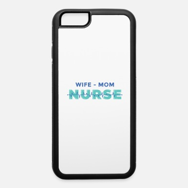 Heart Frequency Wife mom nurse heart frequency - iPhone 6 Case