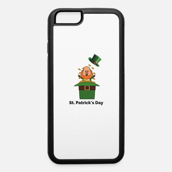 Days Of The Week iPhone Cases - St Patricks Day 2020 - iPhone 6 Case white/black