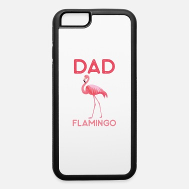 Pilot Dad Flamingo Watercolor Pink Bird Gift For Daddy - iPhone 6 Case