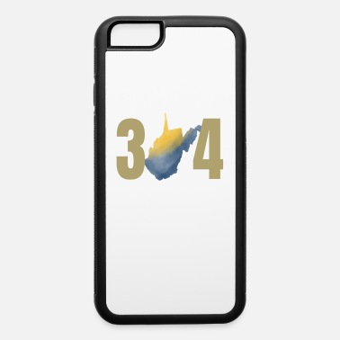 Virginia West Virginia 304 State Watercolor Gifts - iPhone 6 Case