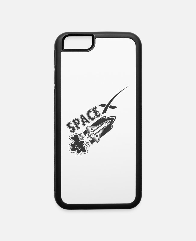 Space iPhone Cases - Space Shuttle - iPhone 6 Case white/black