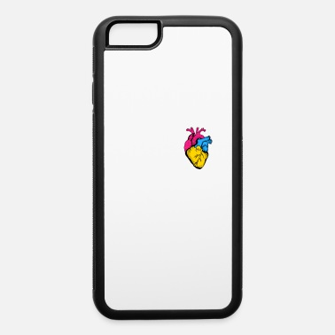 Fly Pan Pride LGBTQ Retro Pansexual Heart - iPhone 6 Case