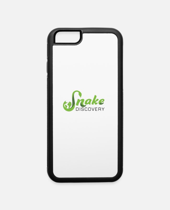Snake Eyes iPhone Cases - snake discovery - iPhone 6 Case white/black