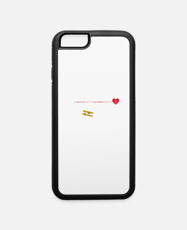 Affair iPhone Cases - Stop Racism. All Lives Matter. I am a White - iPhone 6 Case white/black