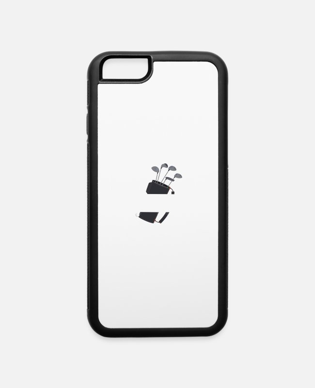 Golf iPhone Cases - Life Is Full Of Important Choices - golf lovers - iPhone 6 Case white/black
