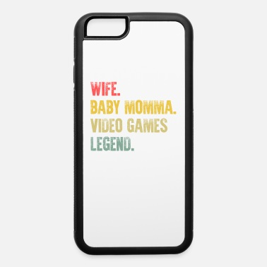 Best Mother Women Funny Gift T Shirt Wife Baby - iPhone 6 Case