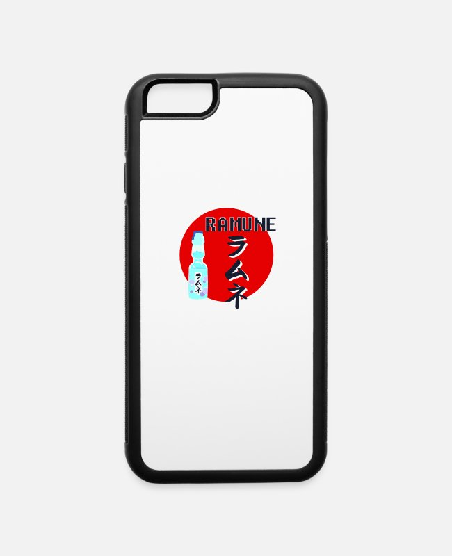 Japanimation iPhone Cases - ramune japanese soda - iPhone 6 Case white/black