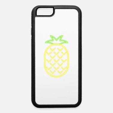 Camping With Friends Pocket Pineapple - iPhone 6 Case