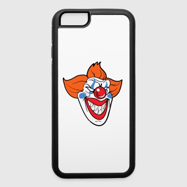Halloween Monster Zombie Scary Horror Clown - iPhone 6/6s Rubber Case