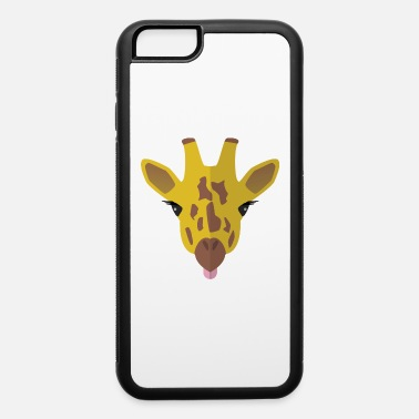 Out Funny Giraffe - iPhone 6 Case
