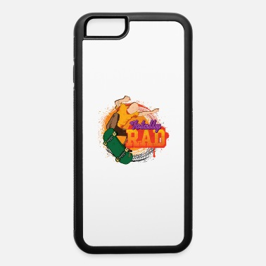 80s Party Favors Totally Rad Skateboarder Extreme sport - iPhone 6 Case