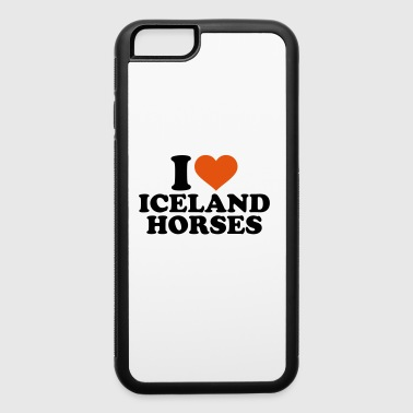 Iceland horse - iPhone 6/6s Rubber Case