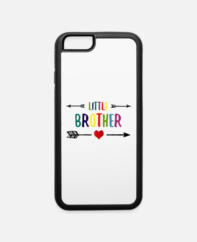 Arrow iPhone Cases - Little Brother siblings - iPhone 6 Case white/black