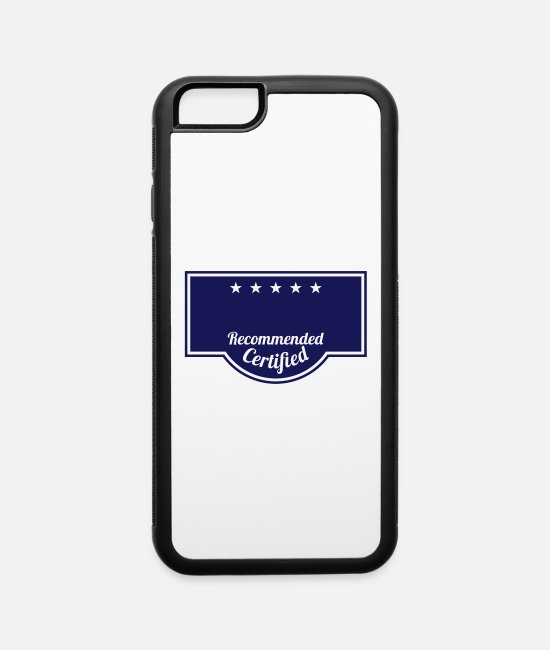 King iPhone Cases - Badge - Custom it ! - iPhone 6 Case white/black