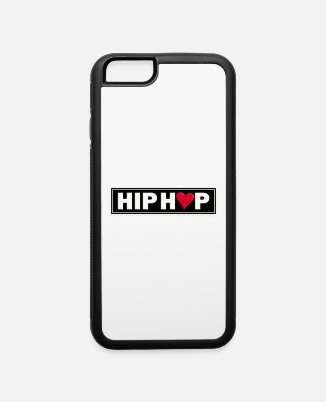 Rap iPhone Cases - HIP HOP - iPhone 6 Case white/black