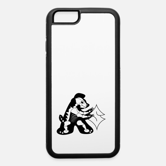 Panda iPhone Cases - Panda - iPhone 6 Case white/black