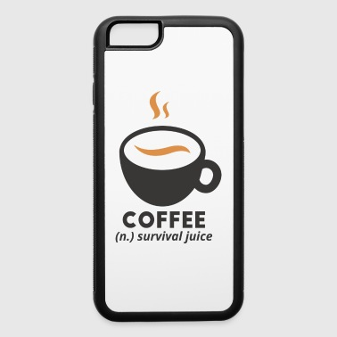 Juicehead coffee - iPhone 6/6s Rubber Case